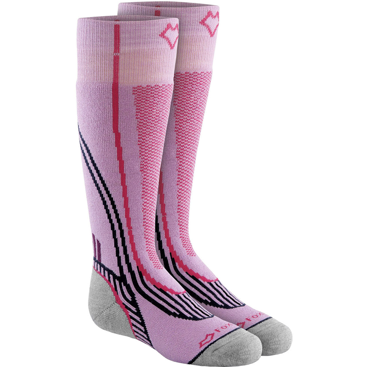 Fox River Snowpass Kid's Ski Sock Orchid