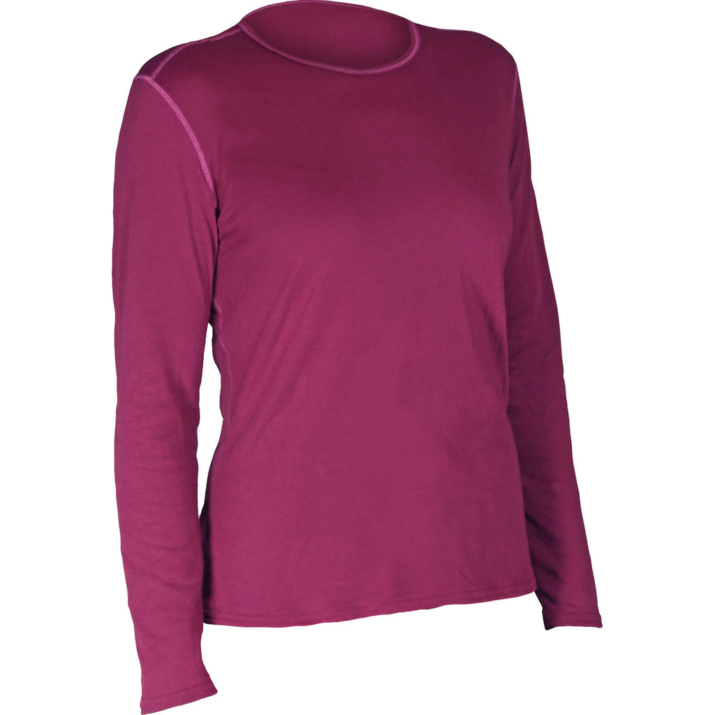 Hot Chillys Pepper Bi-Ply Base Layer Crew Top - Women's