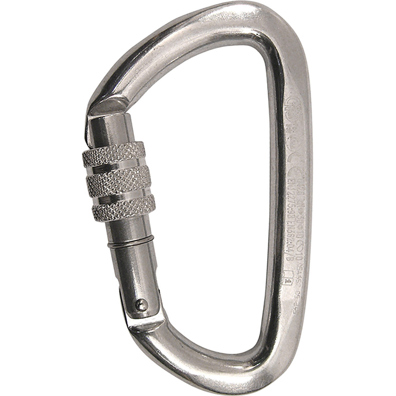 Kong Guide Carabiners Screw Gate polished