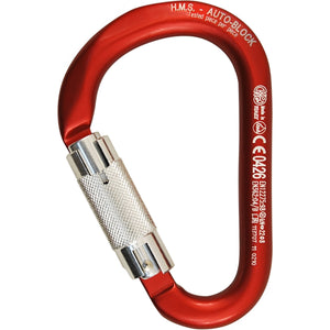 Kong HMS Locking Carabiners Classic 3-Way Autolocking Gate