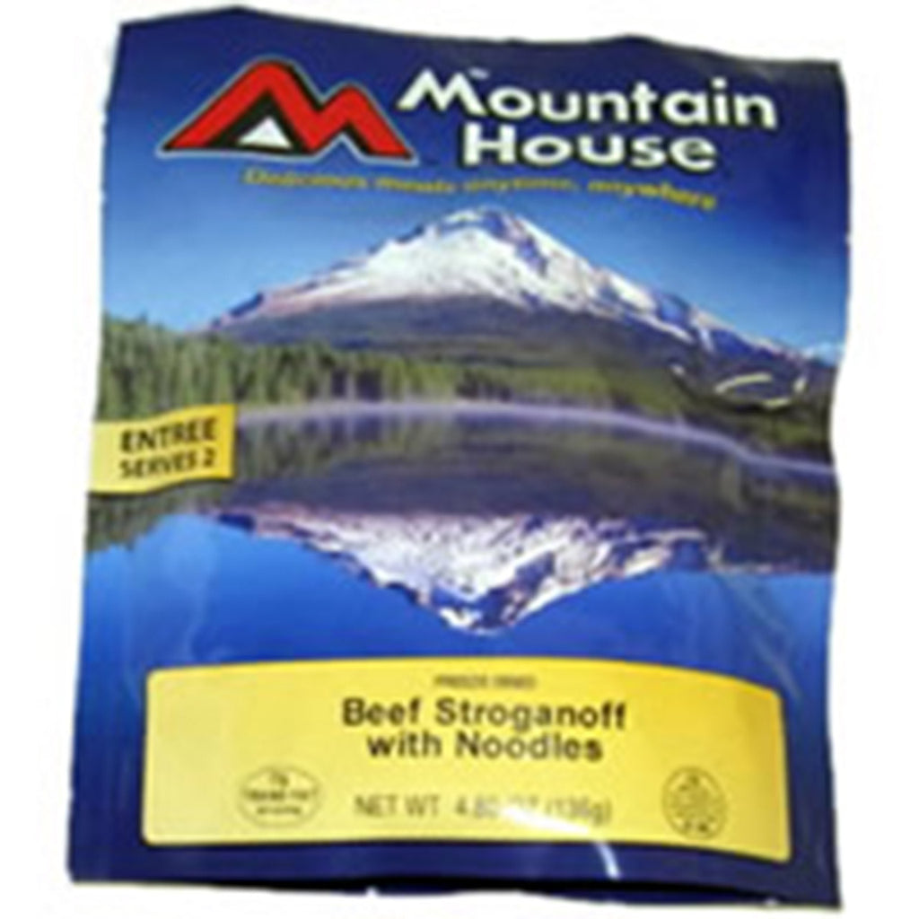 Mountain House Beef Stroganoff - Two 10oz Servings