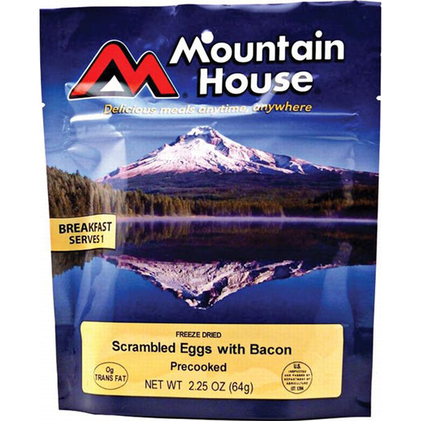 Mountain House Eggs and Bacon - Two 10oz Servings