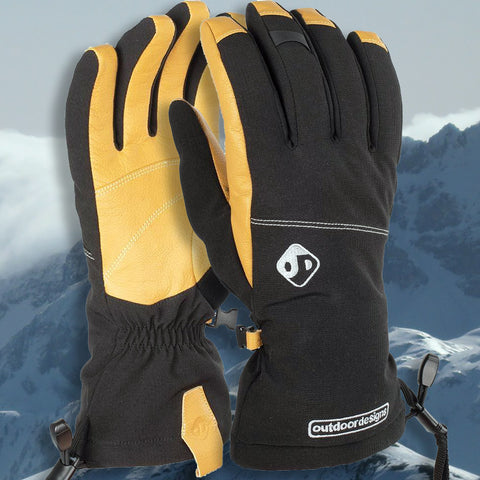 Outdoor Designs Diablo Insulated Softshell Glove