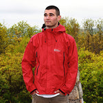 Red Ledge Free Rein Parka Men's Rain Jacket Red
