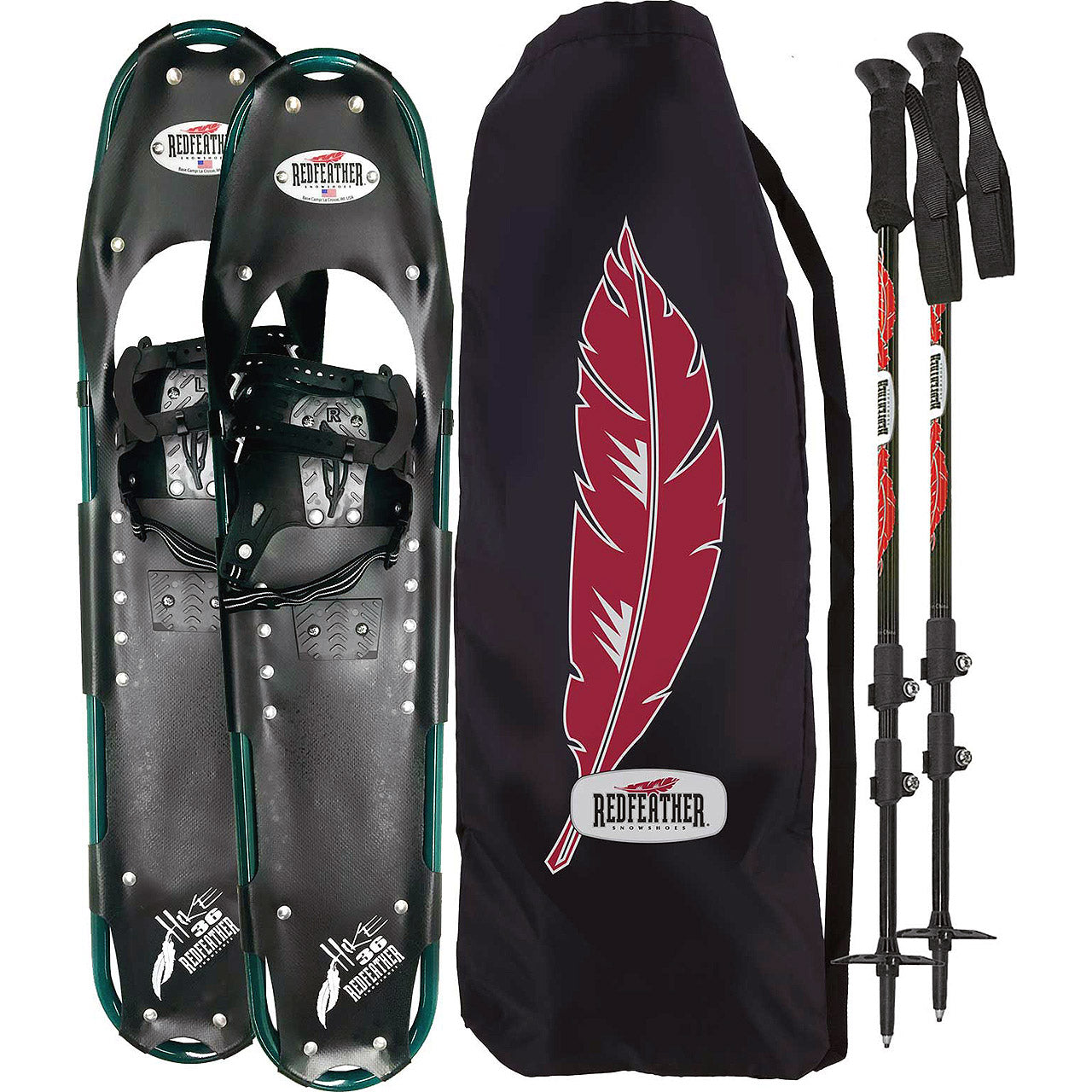 Redfeather Men's Hike Snowshoe Kit