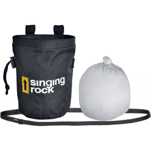 Singing Rock Beginner's Climbing Starter Kit Chalk Bag and Chalk ball