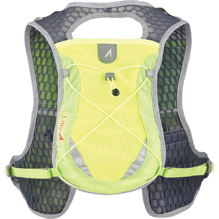 Ultraspire Spry 2.5 Ultralight Hydration Pack Yellow Back
