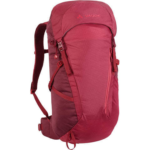 Vaude Prokyon 20-liter Women's Mountaineering Pack Front Red Cluster