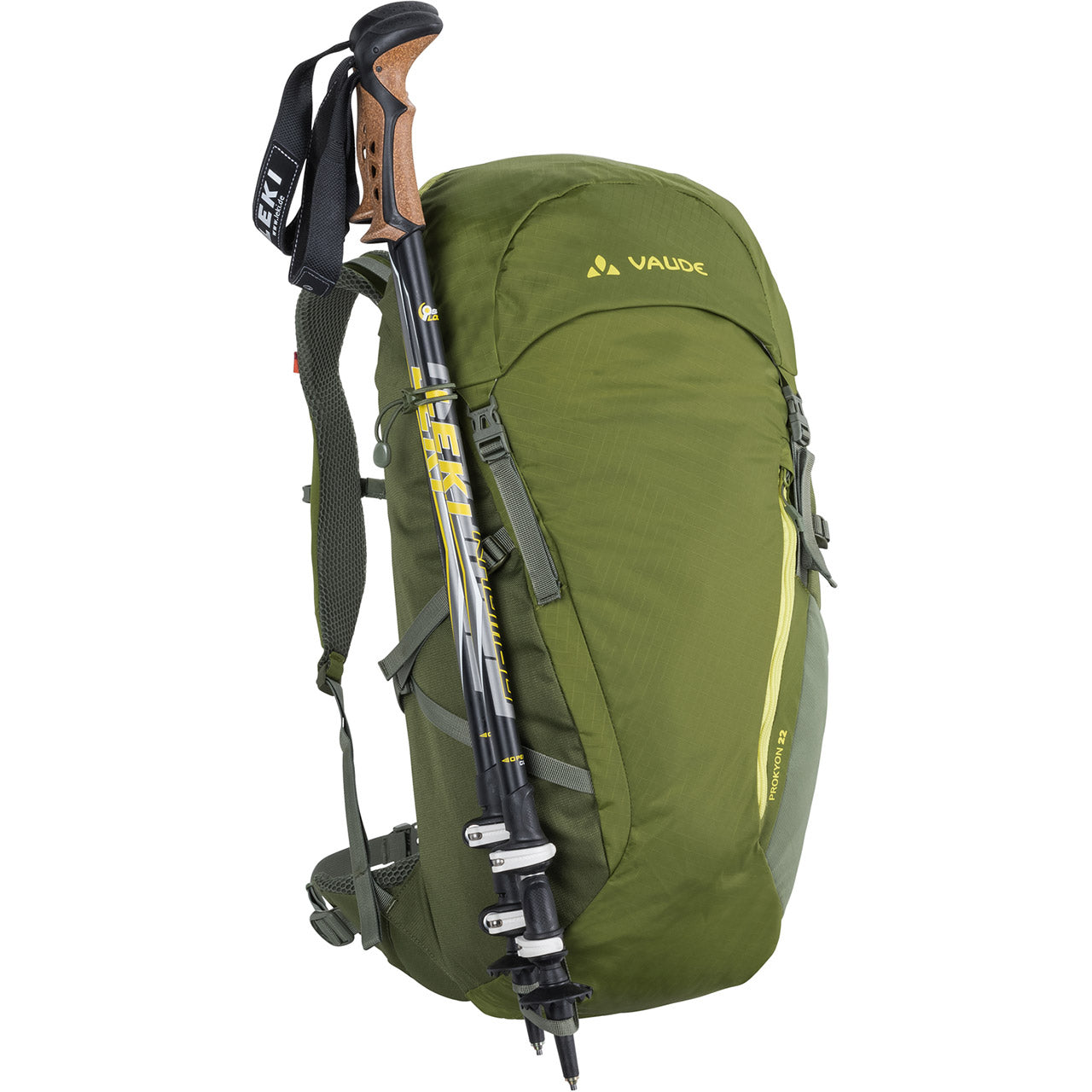 Vaude Prokyon 22-Liter Men's Mountaineering Backpack Trekking Pole Attachment