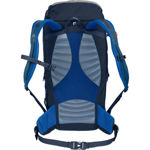 Vaude Prokyon 22-Liter Men's Mountaineering Backpack Washed Blue Back