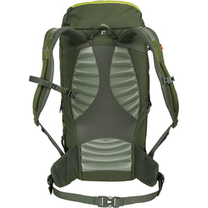 Vaude Prokyon 22-Liter Men's Mountaineering Backpack Holly Green Back
