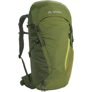 Vaude Prokyon 22-Liter Men's Mountaineering Backpack Holly Green Front