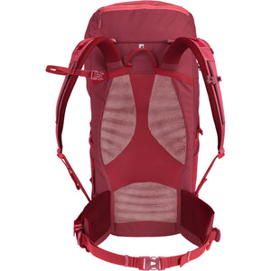 Vaude Prokyon 28-Liter Women's Mountaineering Backpack Back Red Cluster