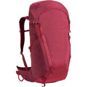 Vaude Prokyon 28-Liter Women's Mountaineering Backpack Front Red Cluster