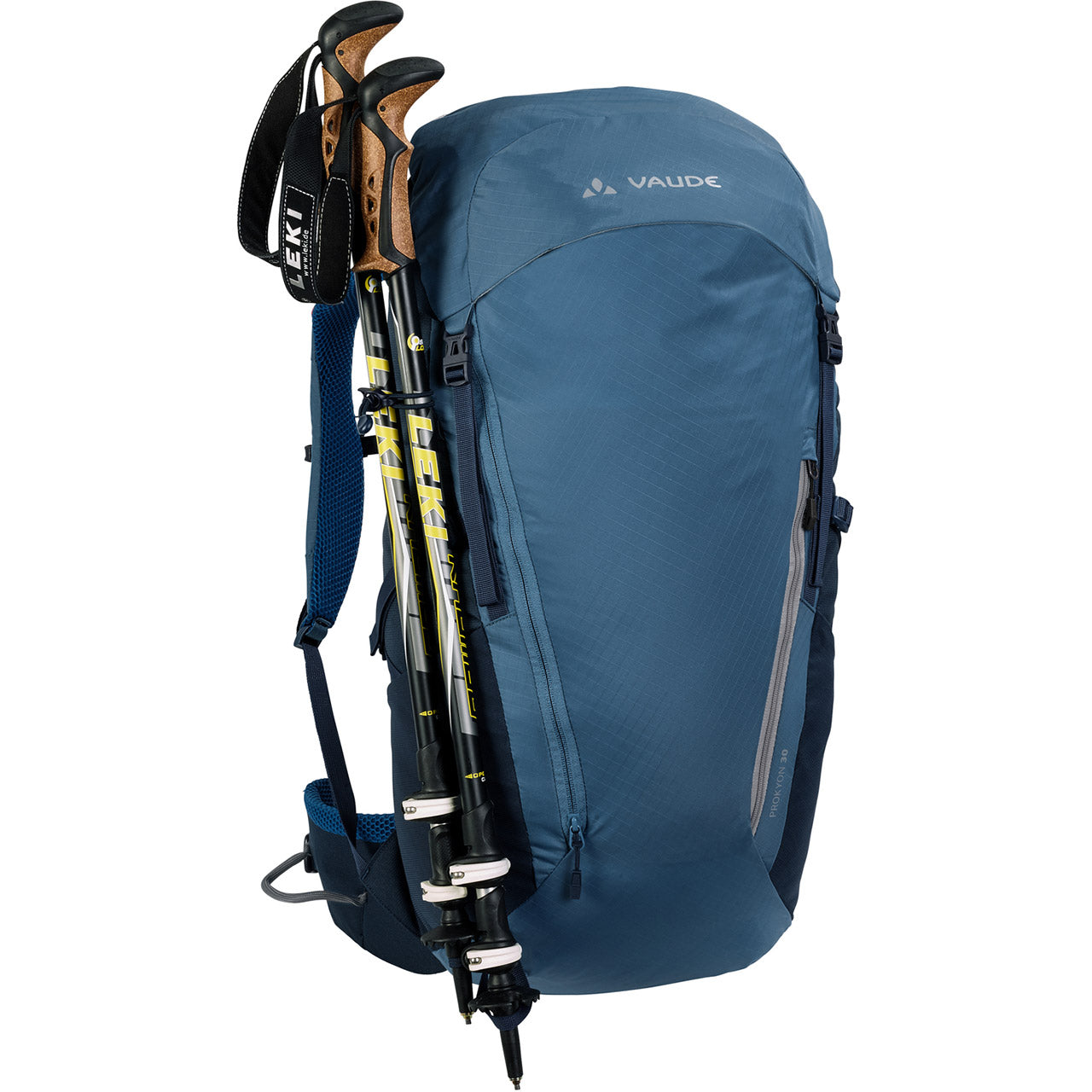 Vaude Prokyon 30-Liter Men's Mountaineering Backpack Trekking Pole Attachment