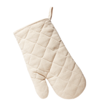 Texas Oven Mitt with Let's Eat Y'all Design in Natural Quilted Cotton - MSRP $12.99
