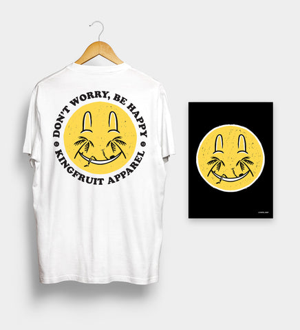 Don't Worry Be Happy - Tee & Print