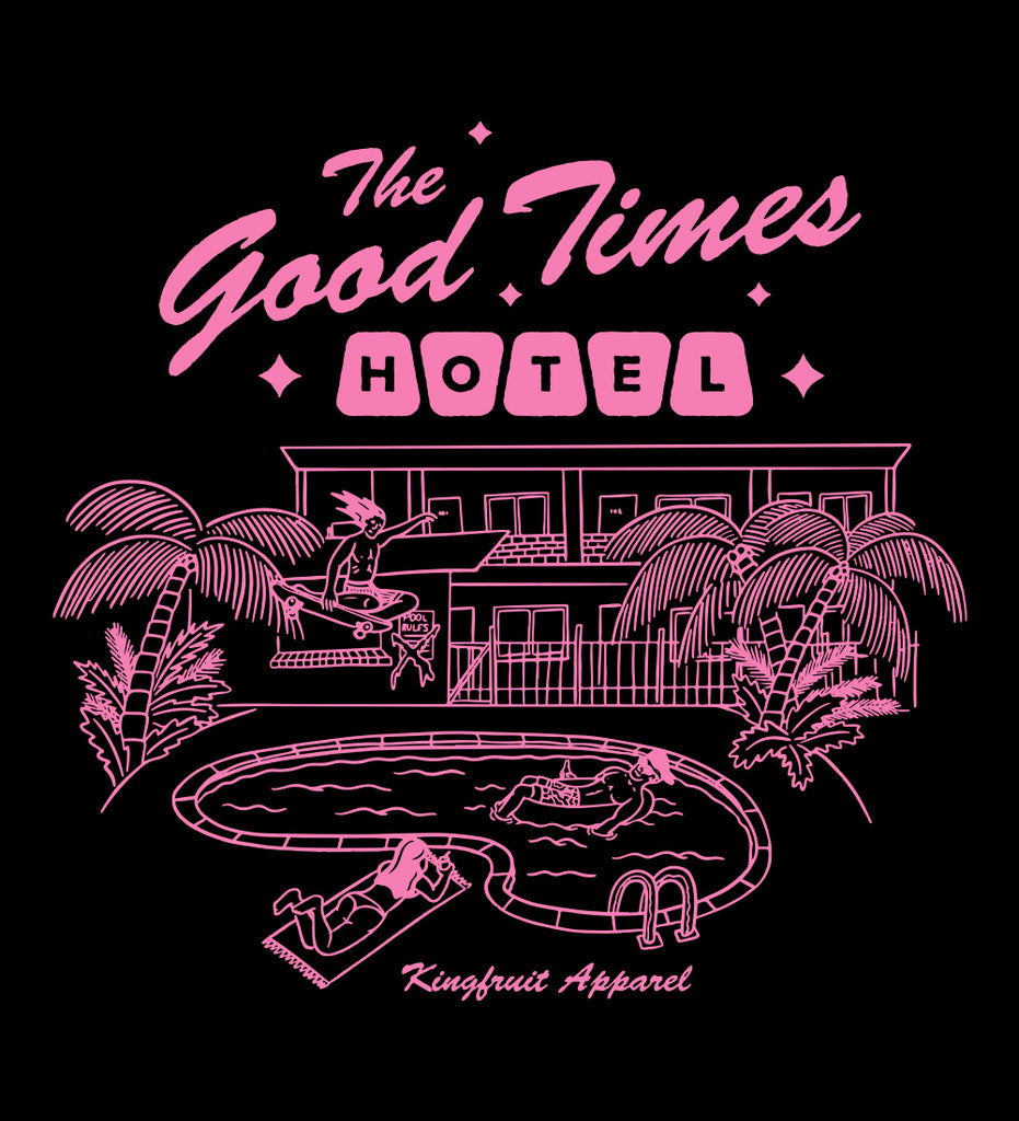 The Good Times Hotel - Tee (Medium Only)