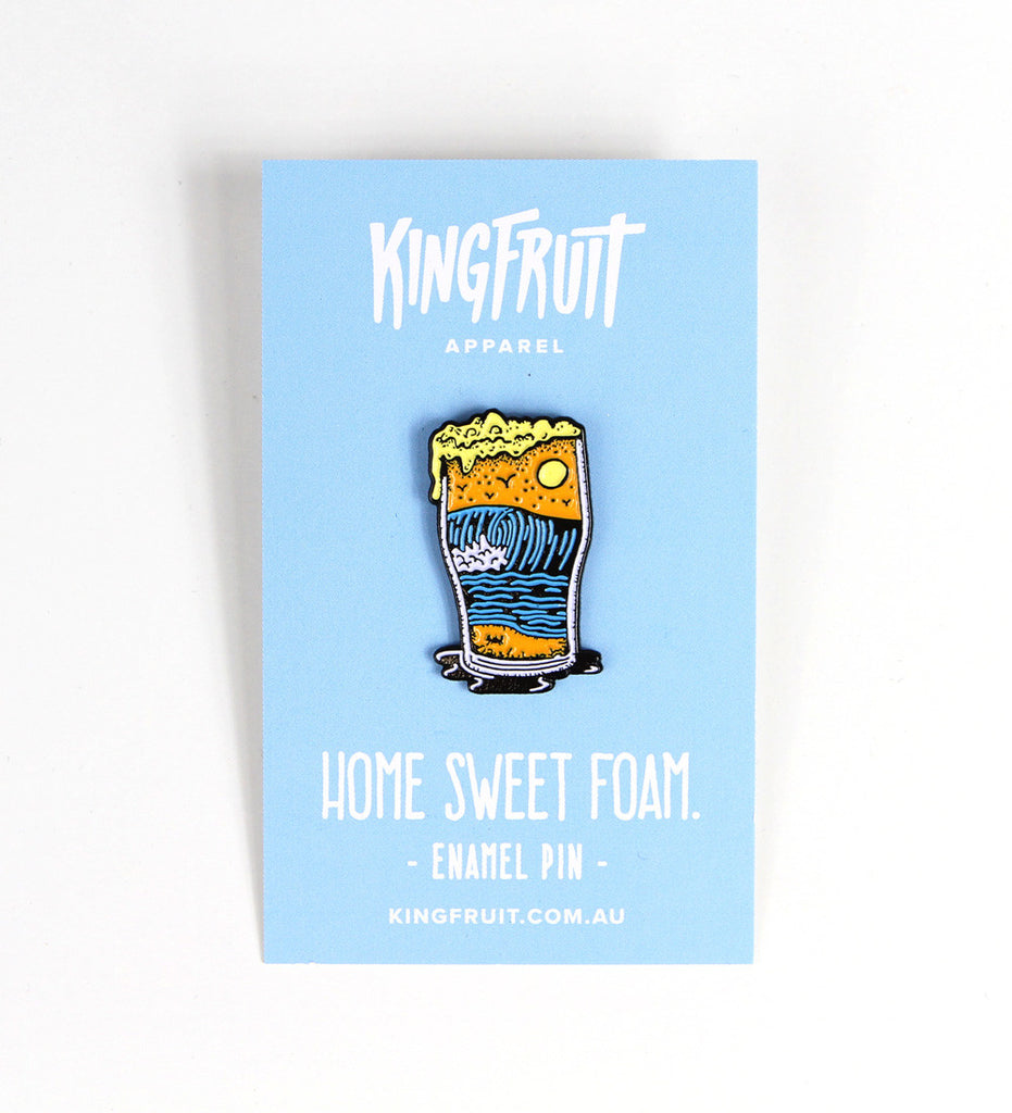 Home Sweet Foam Pin