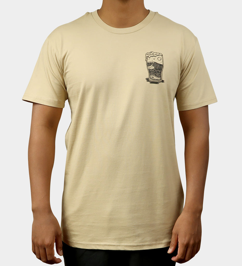 Home Sweet Foam Tee - Tan