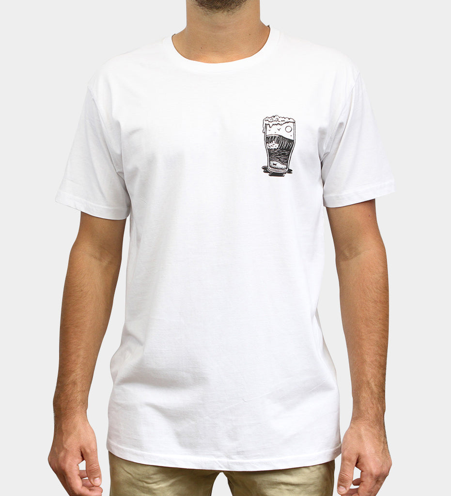 Home Sweet Foam T-Shirt - White