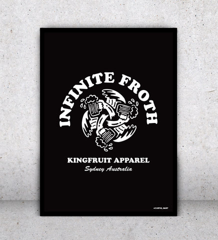 Infinite Froth - Print