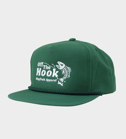 Off the Hook - Poplin Golf Cap