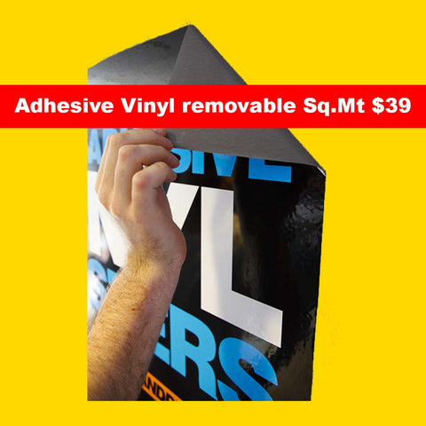 Adhesive Vinyl  Removable