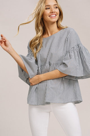 Evelyn Woven Top