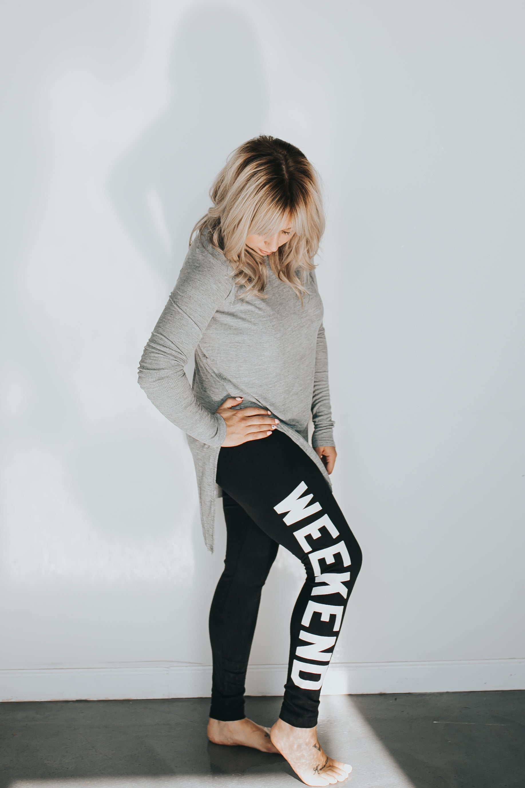 WEEKEND WARRIOR LEGGINGS