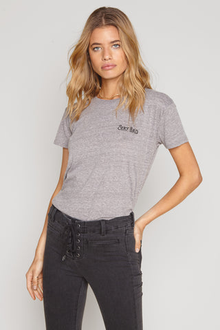 AMUSE SOCIETY: SOMEDAY TEE- HEATHER GREY