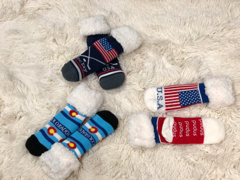 Pudus Slipper Socks Sports, Hockey, USA