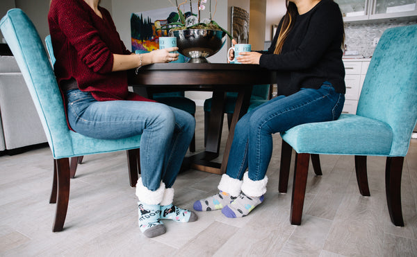 Pudus Lifestyle Co Slipper Socks with Friends