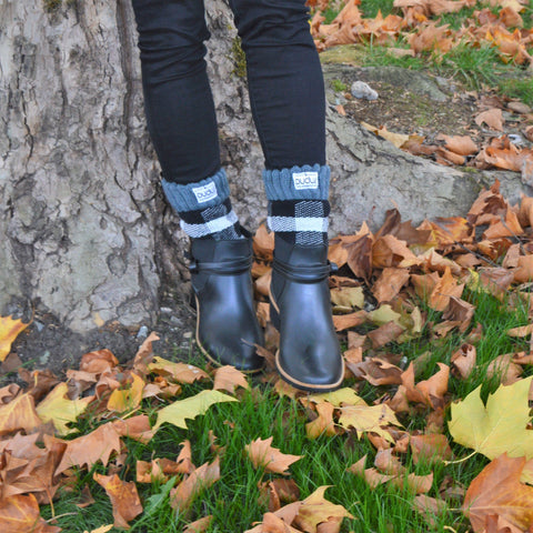 Boot Socks | Lumberjack White | Short