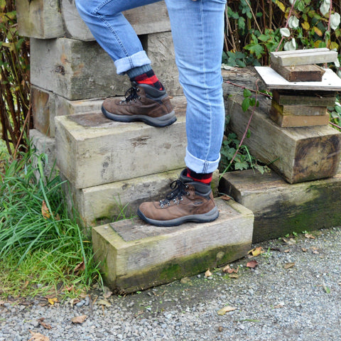 Boot Socks | Lumberjack Red | Large Short