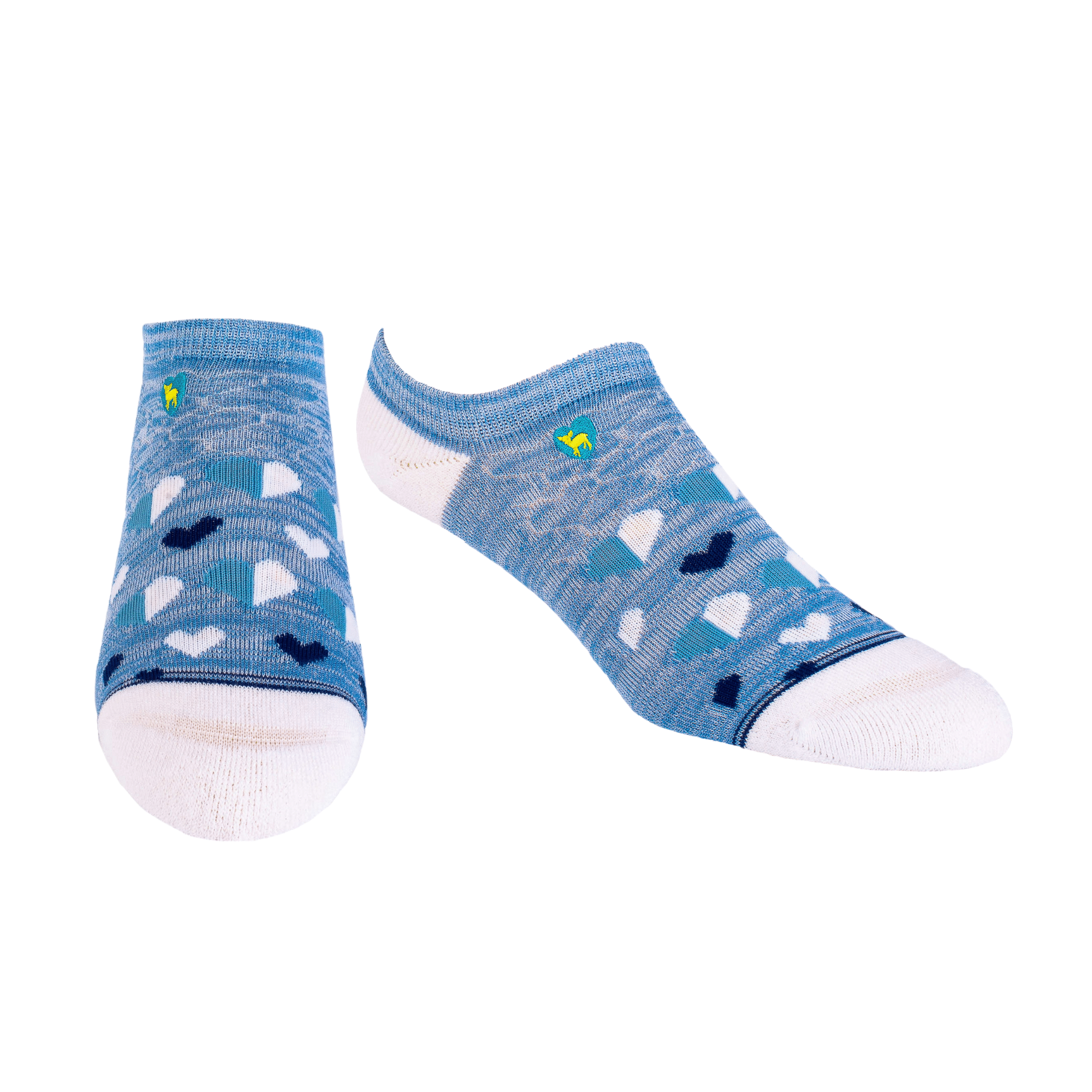 Bamboo Socks | Everyday Ankle | My Heart Is Blue
