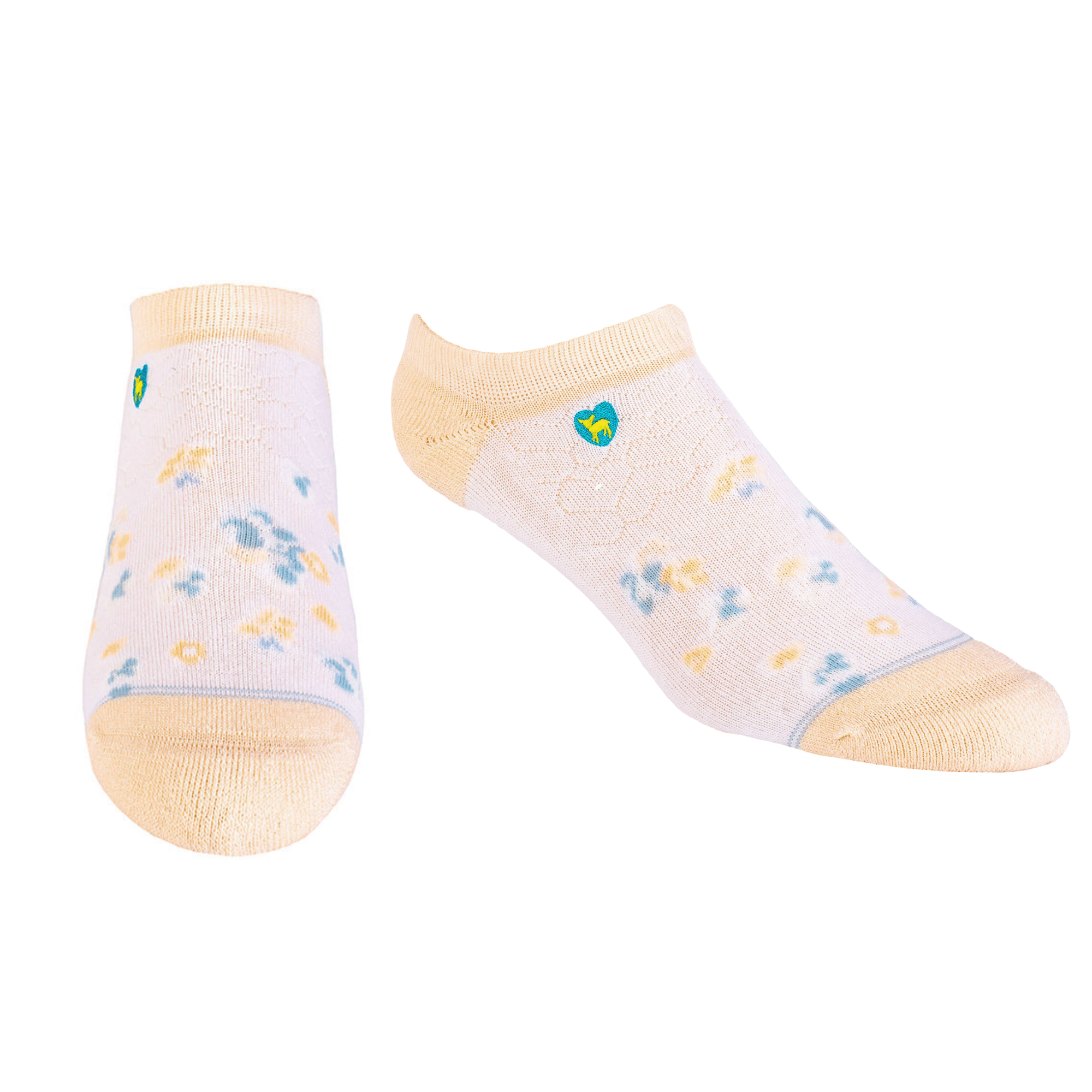 Bamboo Socks | Everyday Ankle | Spring Blossom Peach