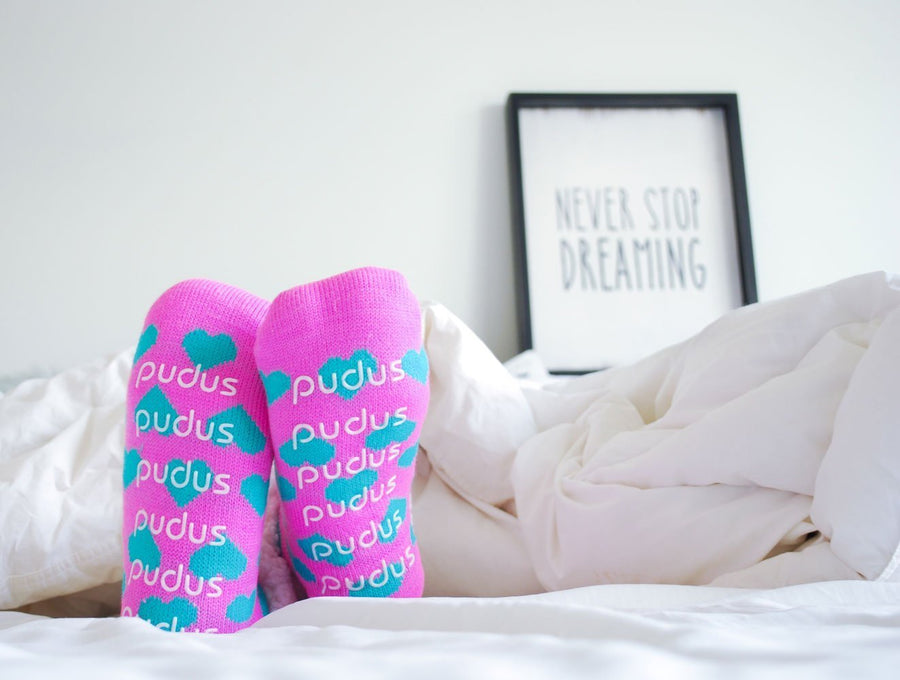 Pink & Blue - Classic Slipper Sock