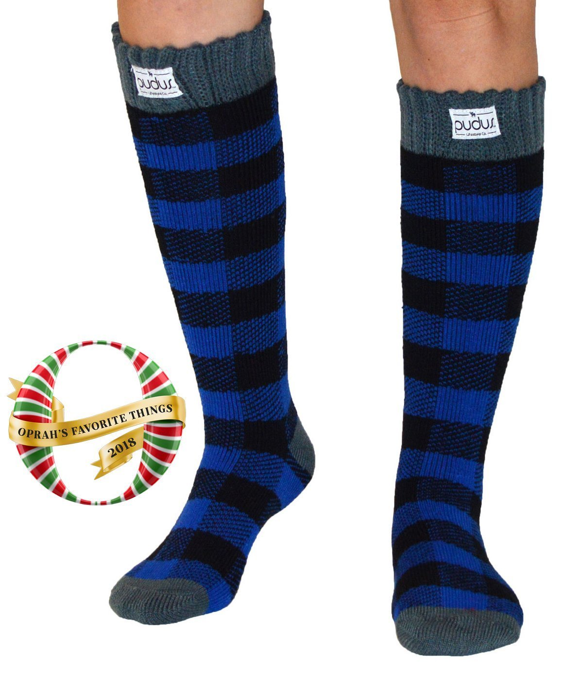Boot Socks | Lumberjack Blue | Tall