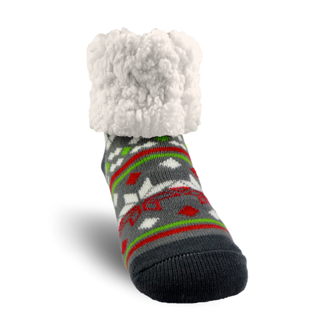 Classic Slipper Socks | Christmas Eve