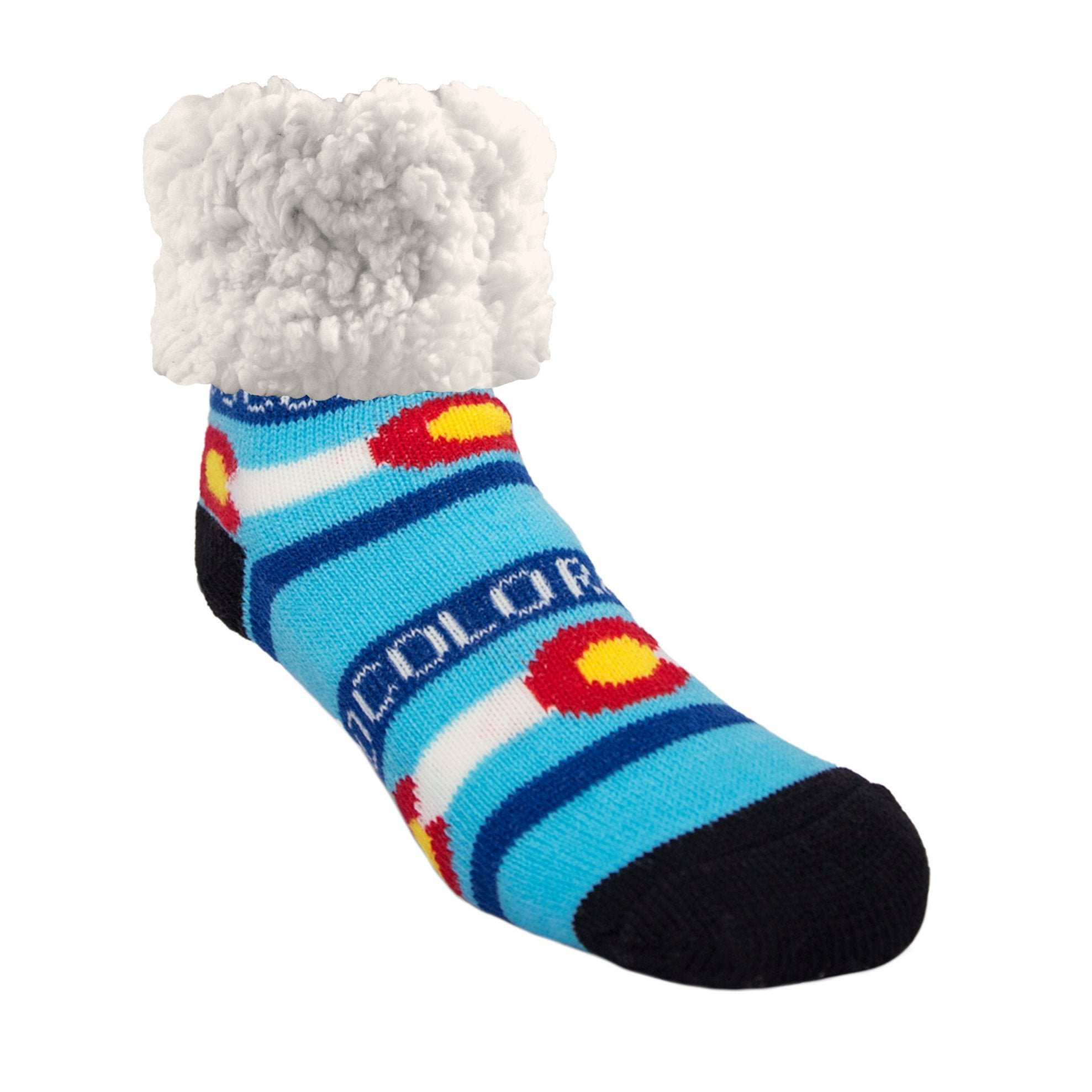 Classic Slipper Socks | Colorado Black