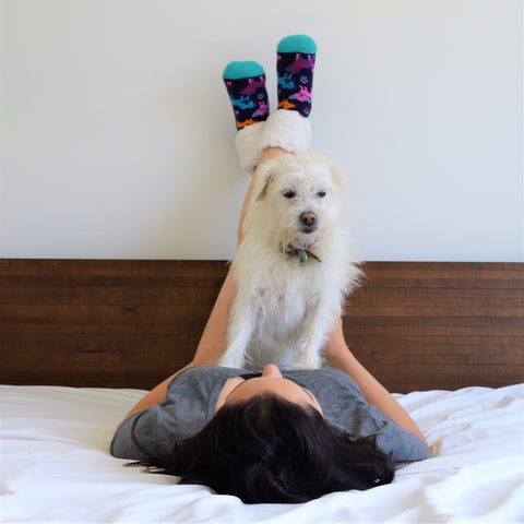 Classic Slipper Socks | Puppy Party