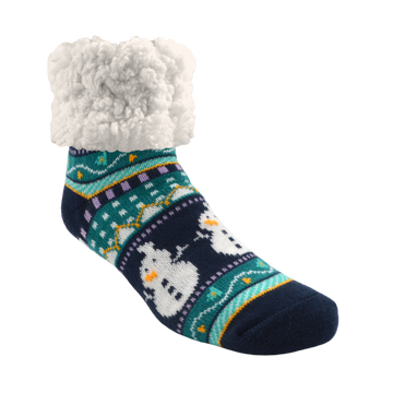 Classic Slipper Socks | Harbour Snowman