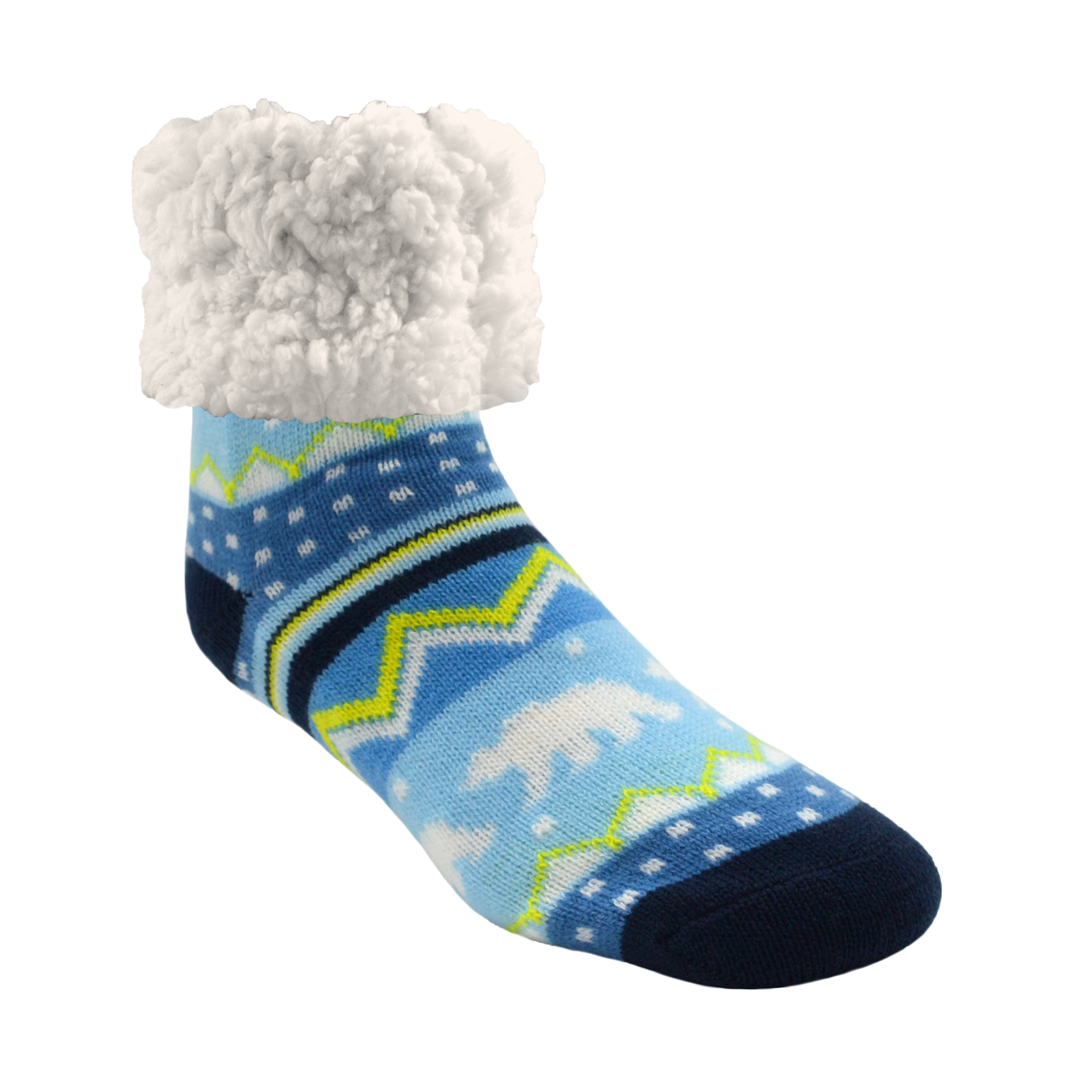 Classic Slipper Socks | Snowy Polar Bear
