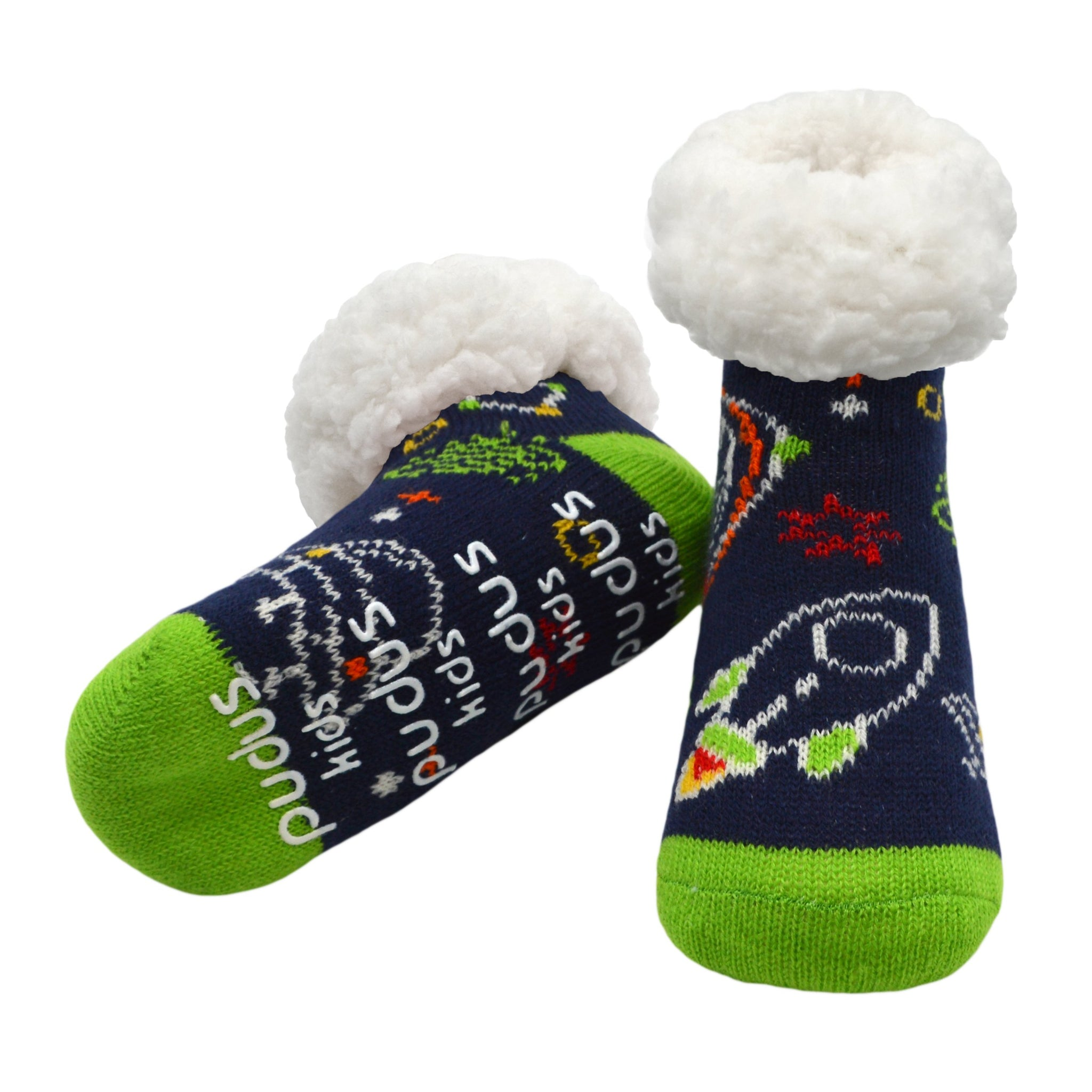 Kids Classic Slipper Socks | Space Navy