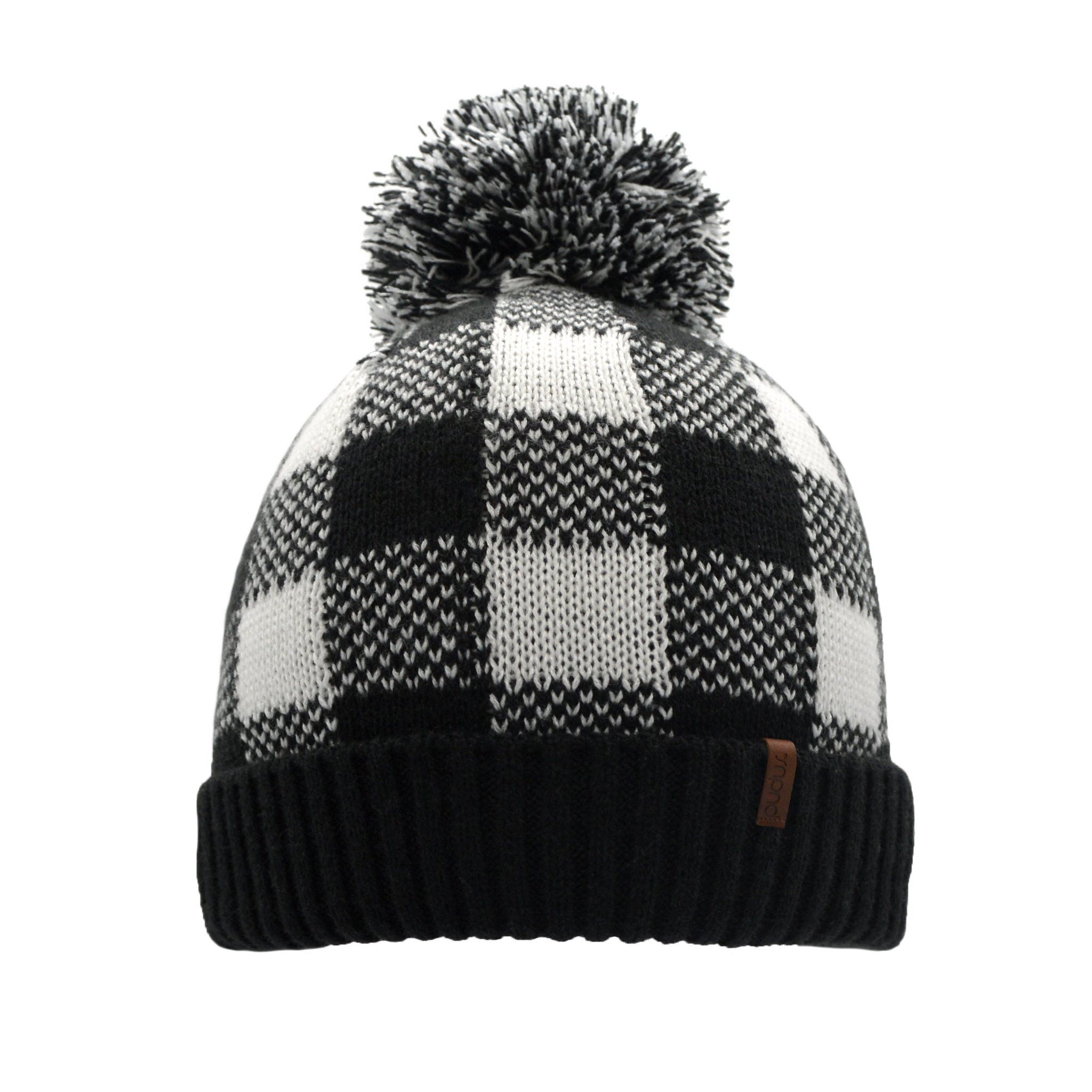 Beanie Winter Hat | Lumberjack White