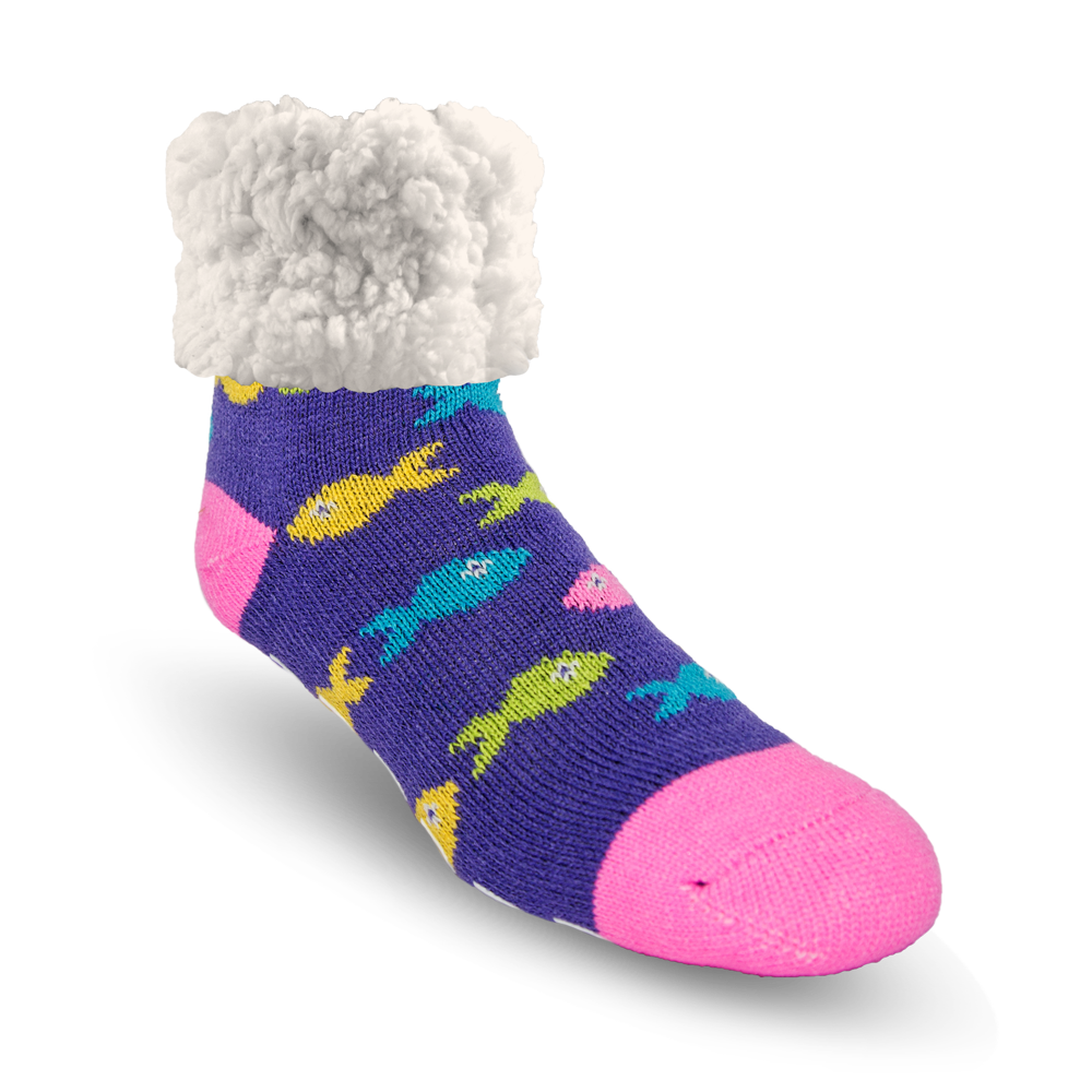 School Of Fish - Classic Slipper Sock