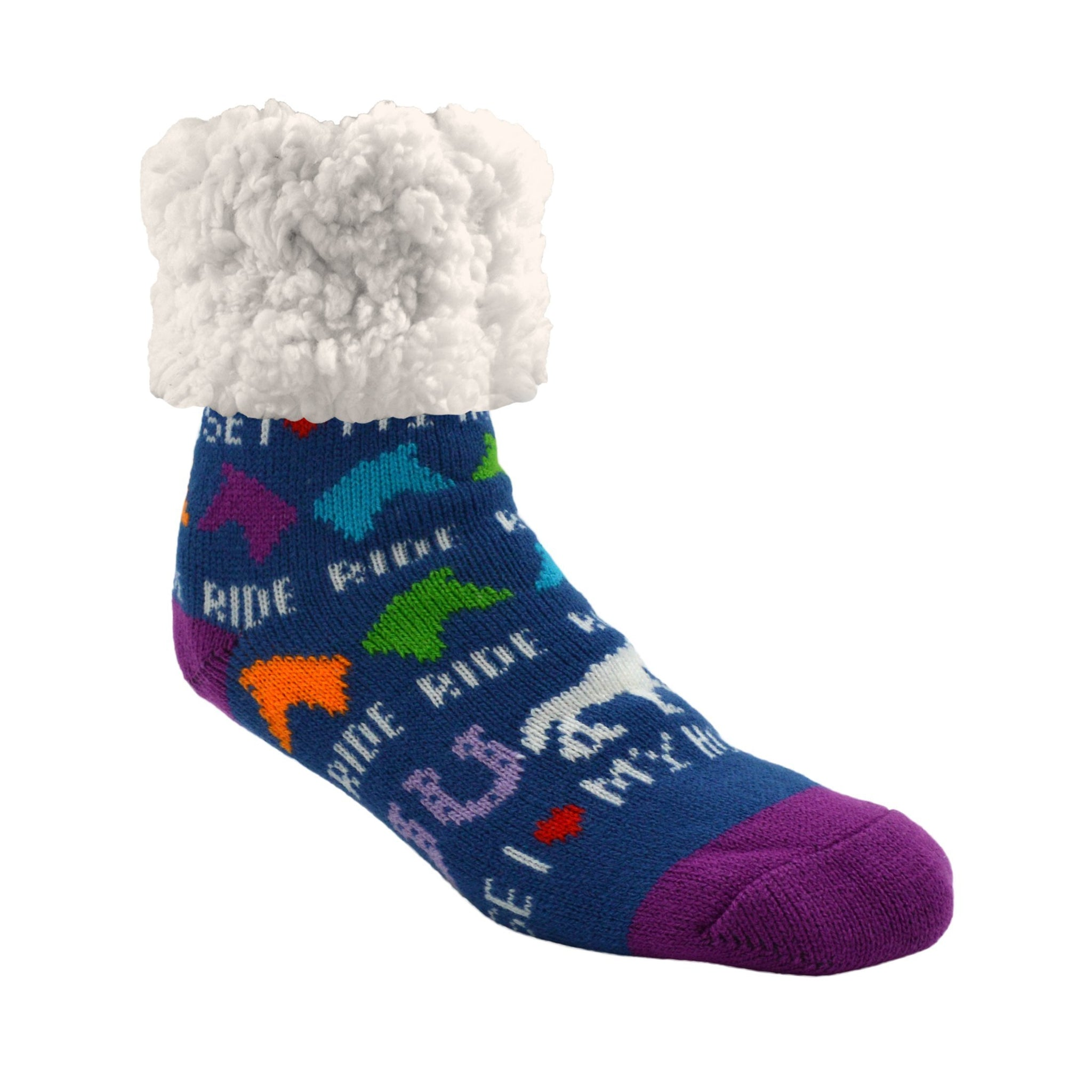 Classic Slipper Socks | I ♥️ My Horse