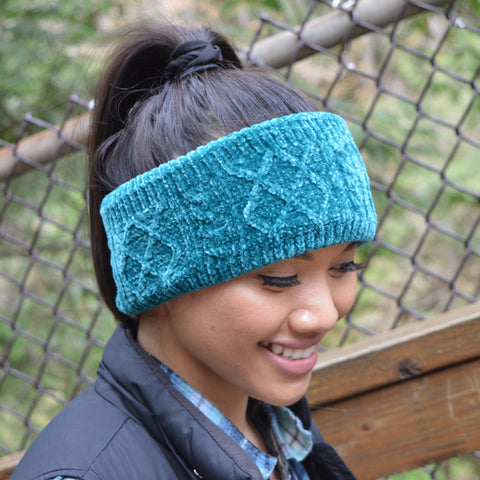 Chenille Knit Headband | Harbour