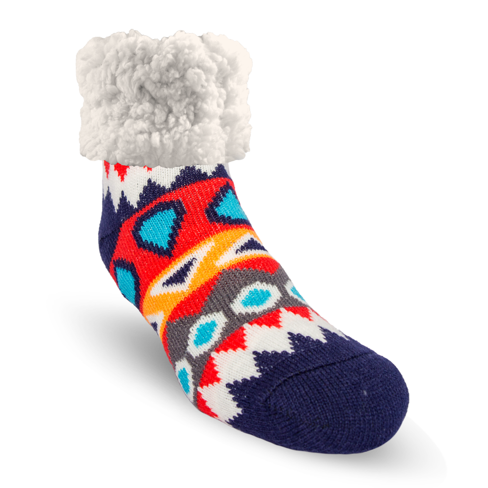 Classic Slipper Socks | Southwest Red